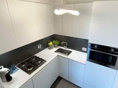 Functional kitchen furniture detail