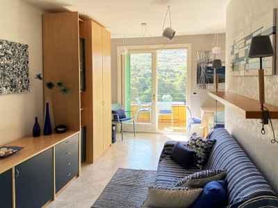 Ingresso soggiorno appartamento vacanza Bordighera
