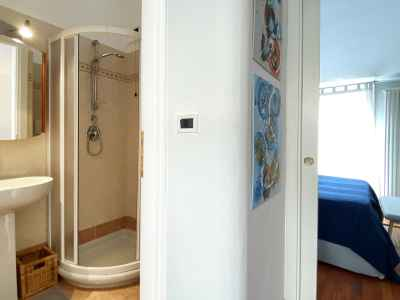 Bathroom of the rooms with shower