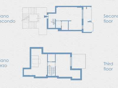 Plan de l'appartement de vacances Bordighera